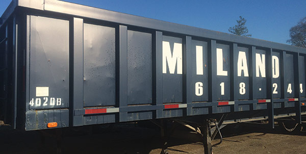 Milano Metals CONTAINERS & DISPATCHING